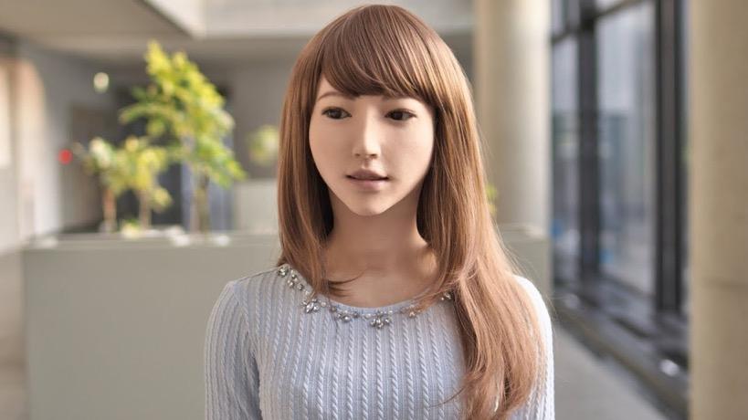 網路上謠傳言日本研發的AI人妻機器人圖片