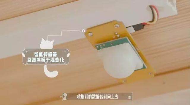 AI貓窩的恆溫系統