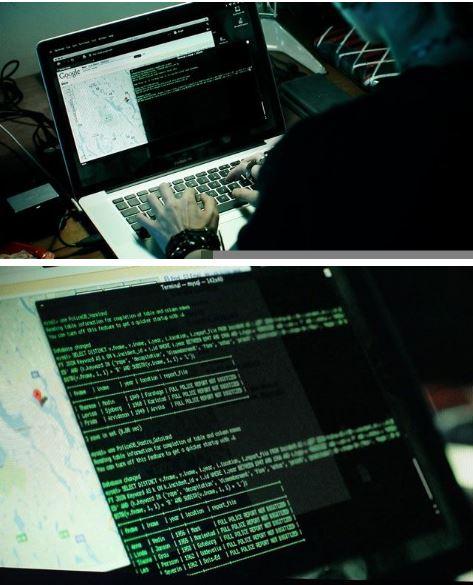龍紋身的女孩中出現的 MySQL 語言
