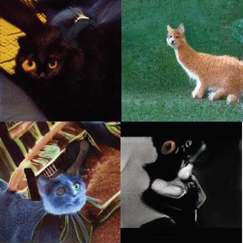 NVIDIA的AI創造的貓咪-2 達內教育