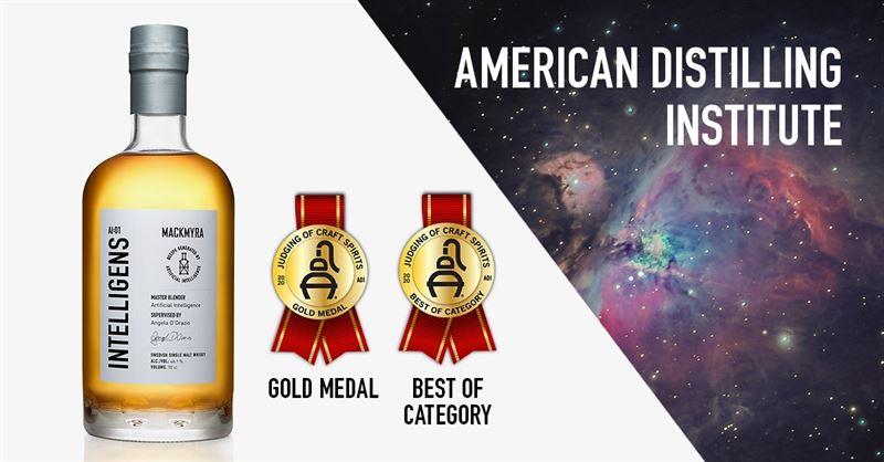 全球首款AI釀的威士忌勇奪兩大獎