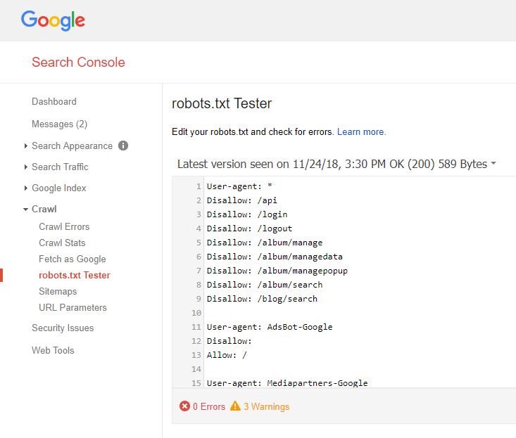Google的robots.txt測試工具|達內教育網路行銷課程