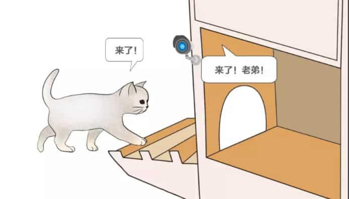 人工智慧貓臉辨識門禁系統