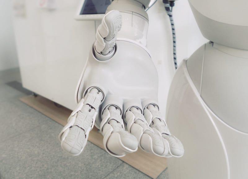 AI的手示意圖