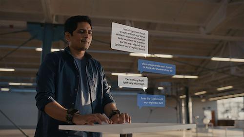 AR感測器讓你不需鍵盤就能隨時隨地打字