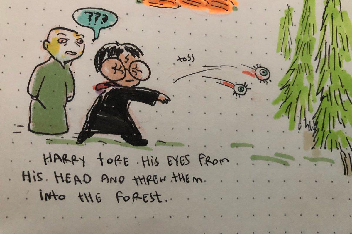 AI寫的哈利波特續集-哈利挖出眼睛插圖