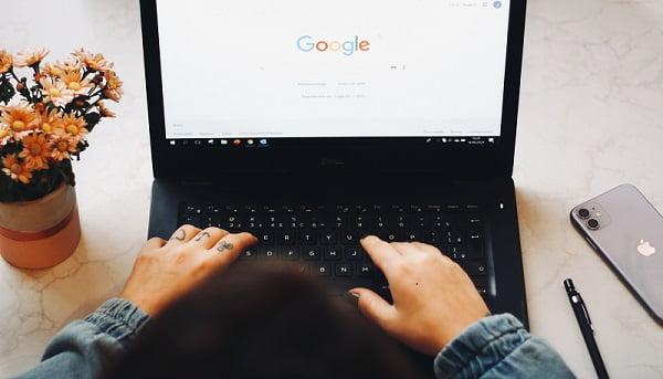 Google搜尋引擎首頁