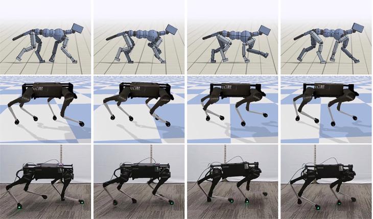 狗狗是人工智慧的最佳教練!Google AI機器人學狗左轉右彎還能小跑