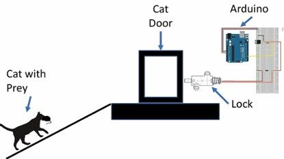 AI貓門運作流程說明圖