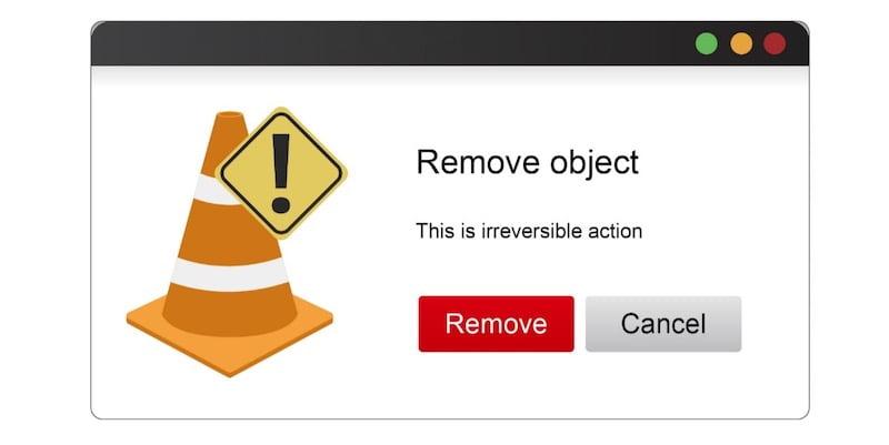UI/UX-有提示動作的按鈕示意圖