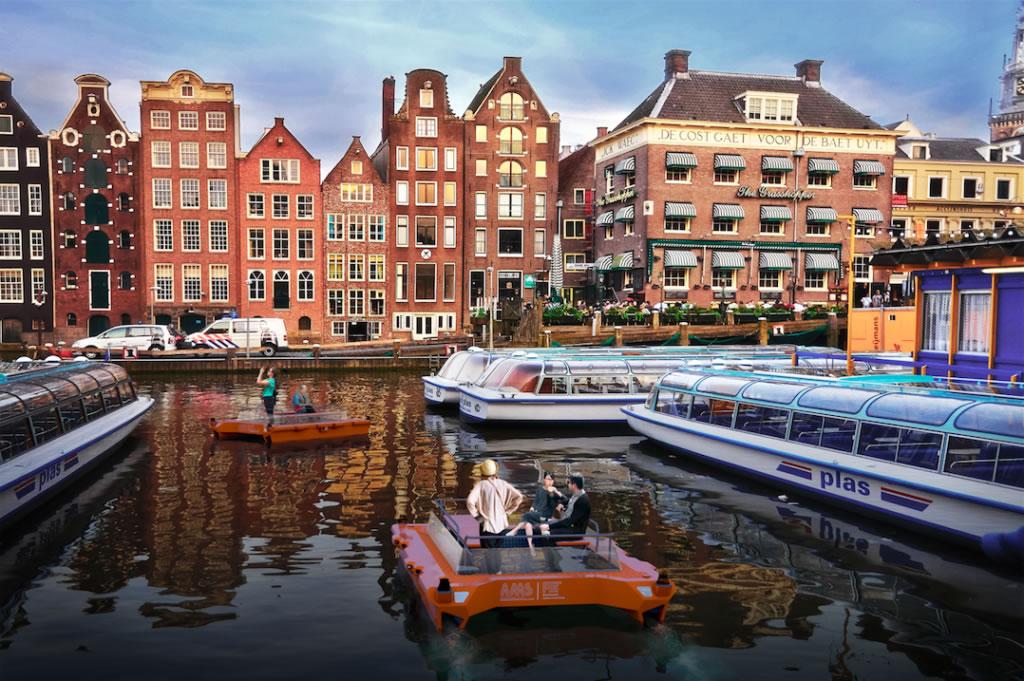 老闆送船不會開怎辦?荷蘭 AI 新創打造人工智慧自駕船