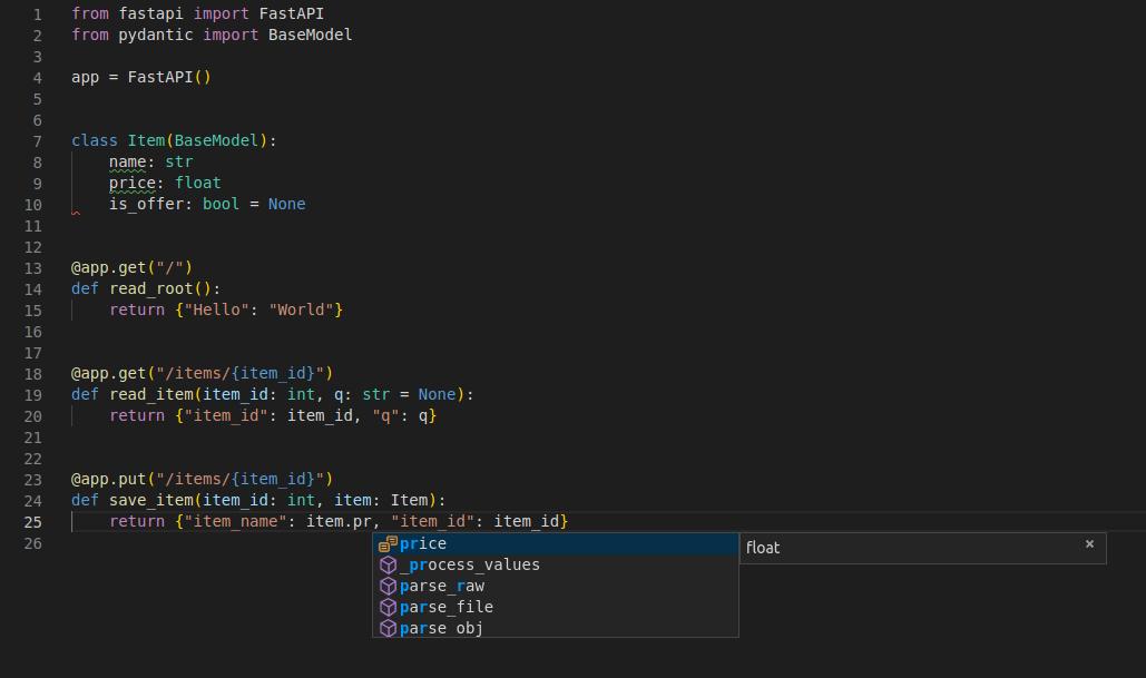 Typer為Python編輯器VSCode中的自動完成功能