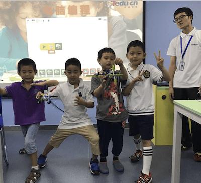 達內機器人課程報名超踴躍,家長關注孩子的動手能力
