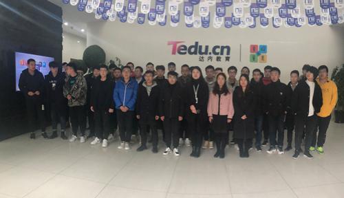 北京達內教育大數據課程11月開班合照