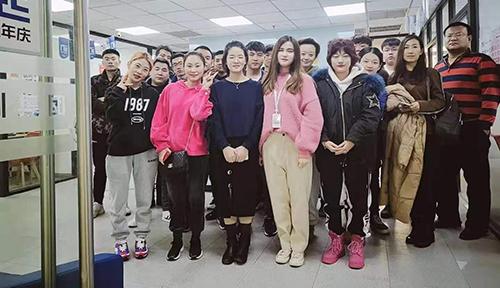 北京達內教育網路行銷11月開班合照