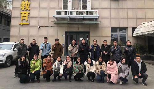 北京達內教育網頁前端開發11月開班合照