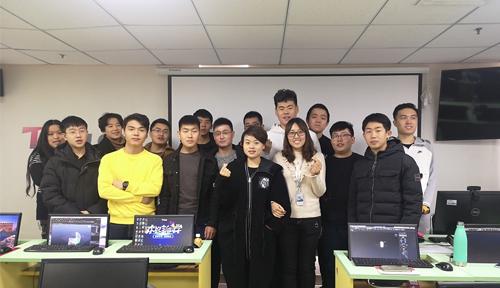 北京達內教育Unity3D課程11月開班合照