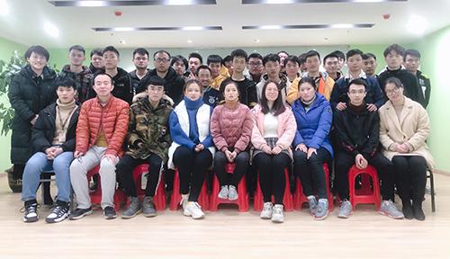 南昌達內教育UI設計課程11月開班合照