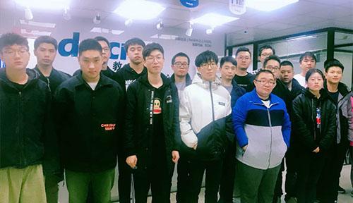 達內教育上海2019年11月開班盛況合照