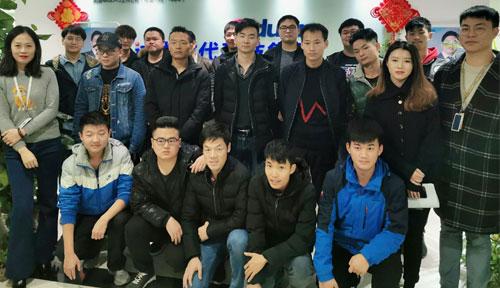 達內教育武漢2019年11月開班盛況合照
